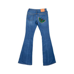 Gucci embroidered jeans 2?1526272155