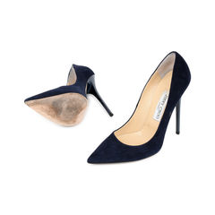 Jimmy choo blue suede pumps 2?1526272203
