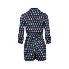 Diane von furstenberg celeste floral print silk jersey playsuit 2?1526279971