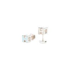 Hermes cage d h earrings 2?1526285384