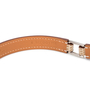 Hermes Lizard Rivale Double Tour Bracelet - Thumbnail 4