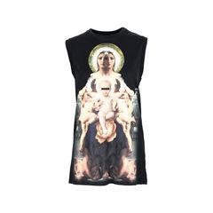 Madonna Printed Cotton Jersey T-Shirt