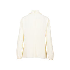 Red valentino ruffled collar blouse 2?1526290792