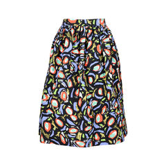 Duro olowu abstract printed skirt 2?1526291000