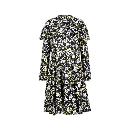 Authentic Second Hand Valentino Ruffled Floral Dress (PSS-470-00027)