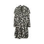 Authentic Second Hand Valentino Ruffled Floral Dress (PSS-470-00027) - Thumbnail 1