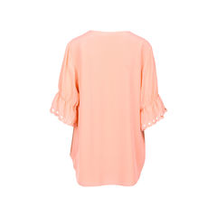 Chloe ruched sleeve blouse pink 3?1526291951