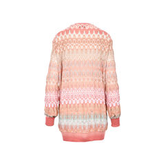 Missoni long cardigan pink 2?1526292015