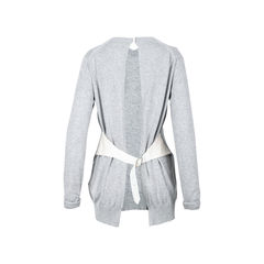 Sacai open back cardigan 2?1526352502