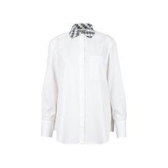 Pattern Collar Shirt