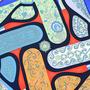 Authentic Second Hand Hermès Festival des Amazones Scarf (PSS-099-00015) - Thumbnail 3