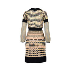M missoni shimmer knit dress it 42 2?1526353538