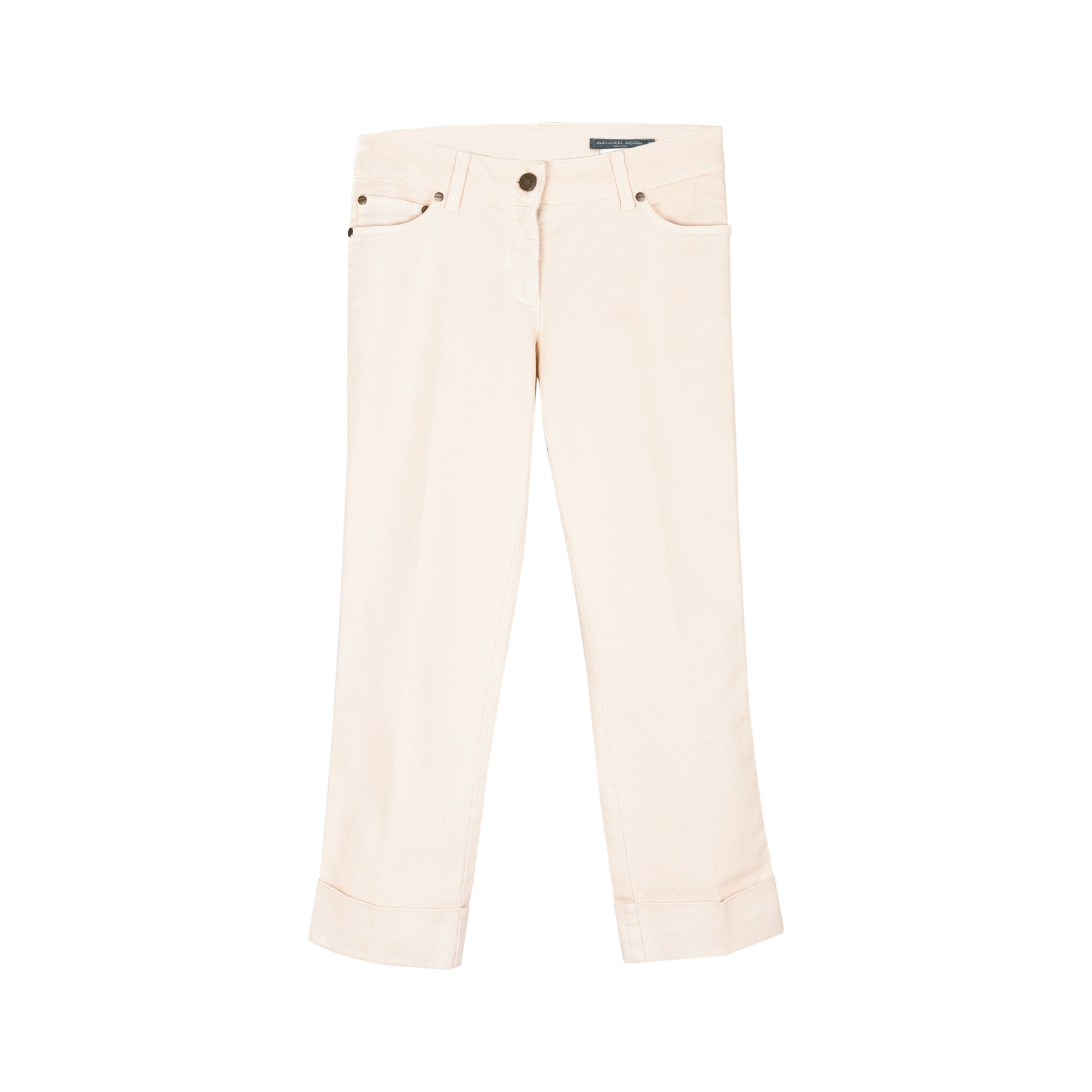 b05ce6fbbfe Authentic Second Hand Alexander McQueen Cropped Jeans (PSS-099-00013 ...