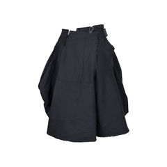 Comme des garcons cut out waist shorts 2?1526369885