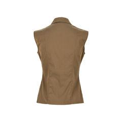 Jil sander sleeveless blouse green 2?1526453021