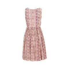 Prada printed dress purple 2?1526453039