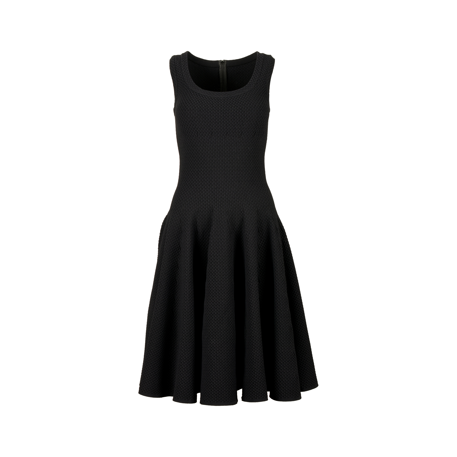 b7f3844f516 Authentic Second Hand Azzedine Alaïa Knit Flare Dress (PSS-071-00240 ...