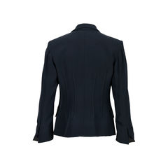Gianni versace pearl button blazer 2?1526453217