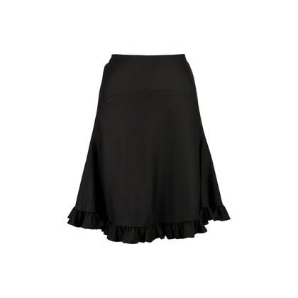 Authentic Second Hand Balenciaga Frill Hem Skirt (PSS-071-00189)