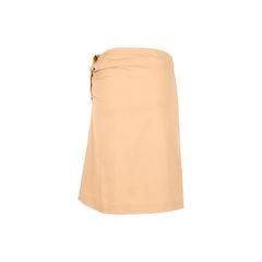 Jil sander ruched side skirt 2?1526537635