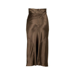 Alberta ferretti satin maxi skirt 2?1526537738