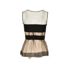 Alberta ferretti ruffled blouse 2?1526537752