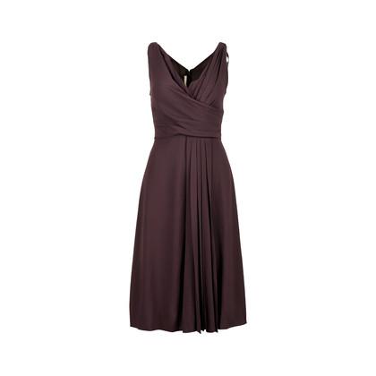 Authentic Second Hand Prada Pleated Dress (PSS-071-00239)