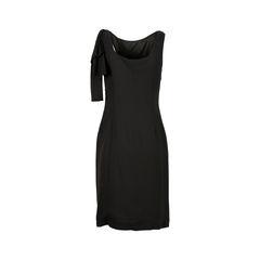 Prada pleated bow dress 2?1526537805