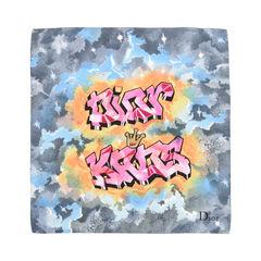 Christian dior graffiti scarf 2?1526624097