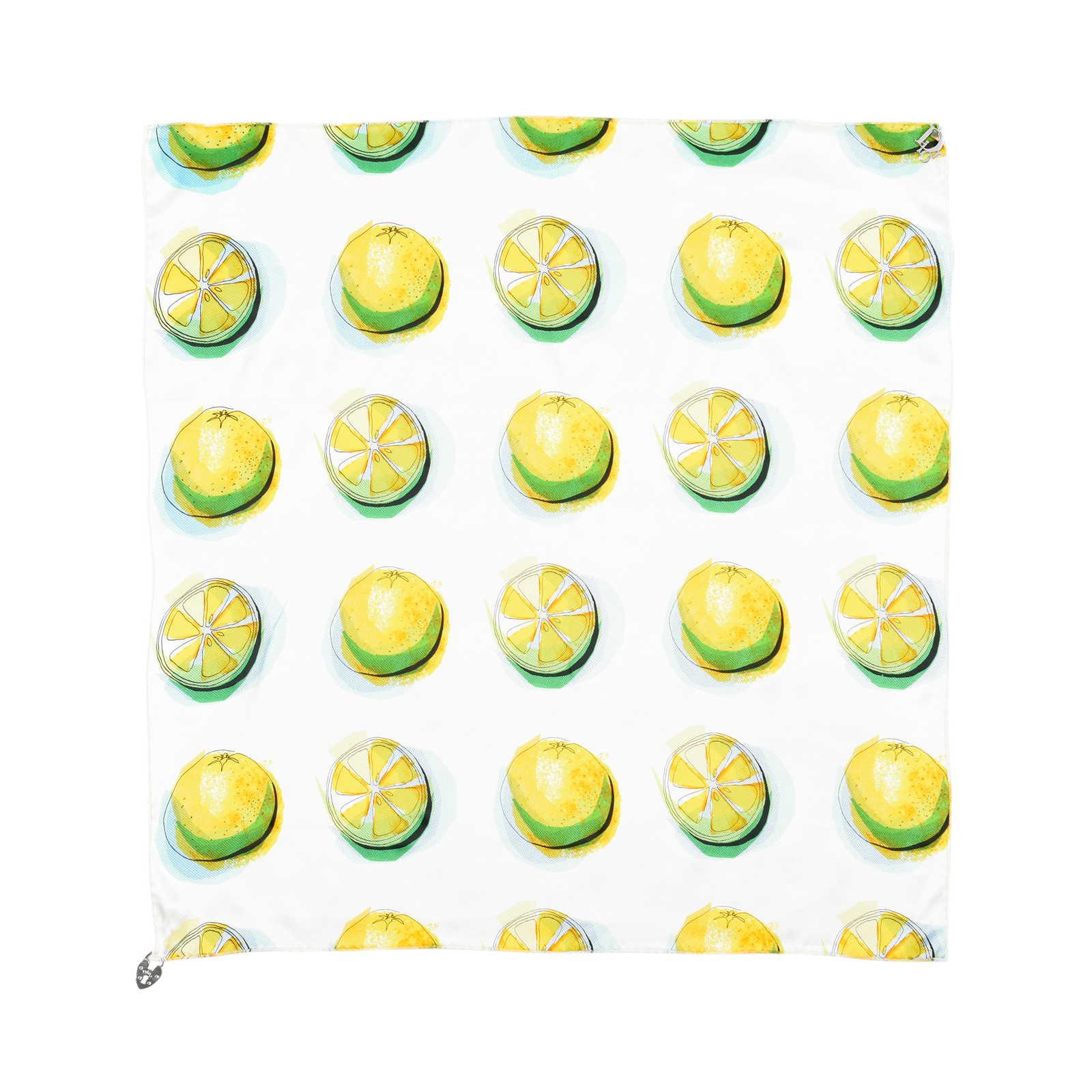e983d485fc358 ... Authentic Second Hand Christian Dior Lemon Scarf (PSS-200-01411) -  Thumbnail ...