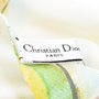 Authentic Second Hand Christian Dior Lemon Scarf (PSS-200-01411) - Thumbnail 6