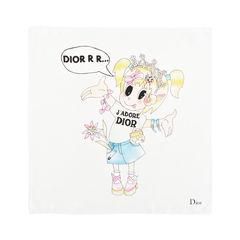 Christian dior cartoon scarf multicolour 2?1526624278