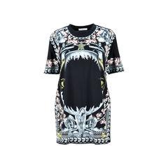Mermaid Shark Print T-shirt