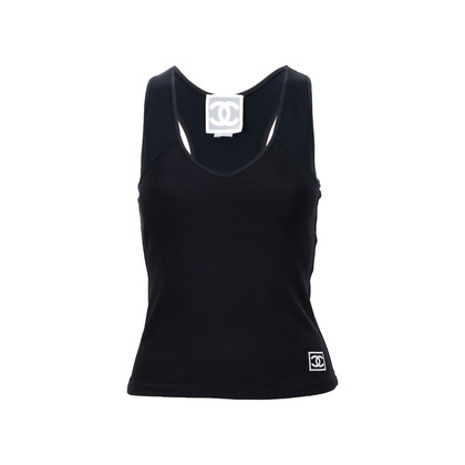Authentic Second Hand Chanel Sports Tank Top (PSS-200-01389)