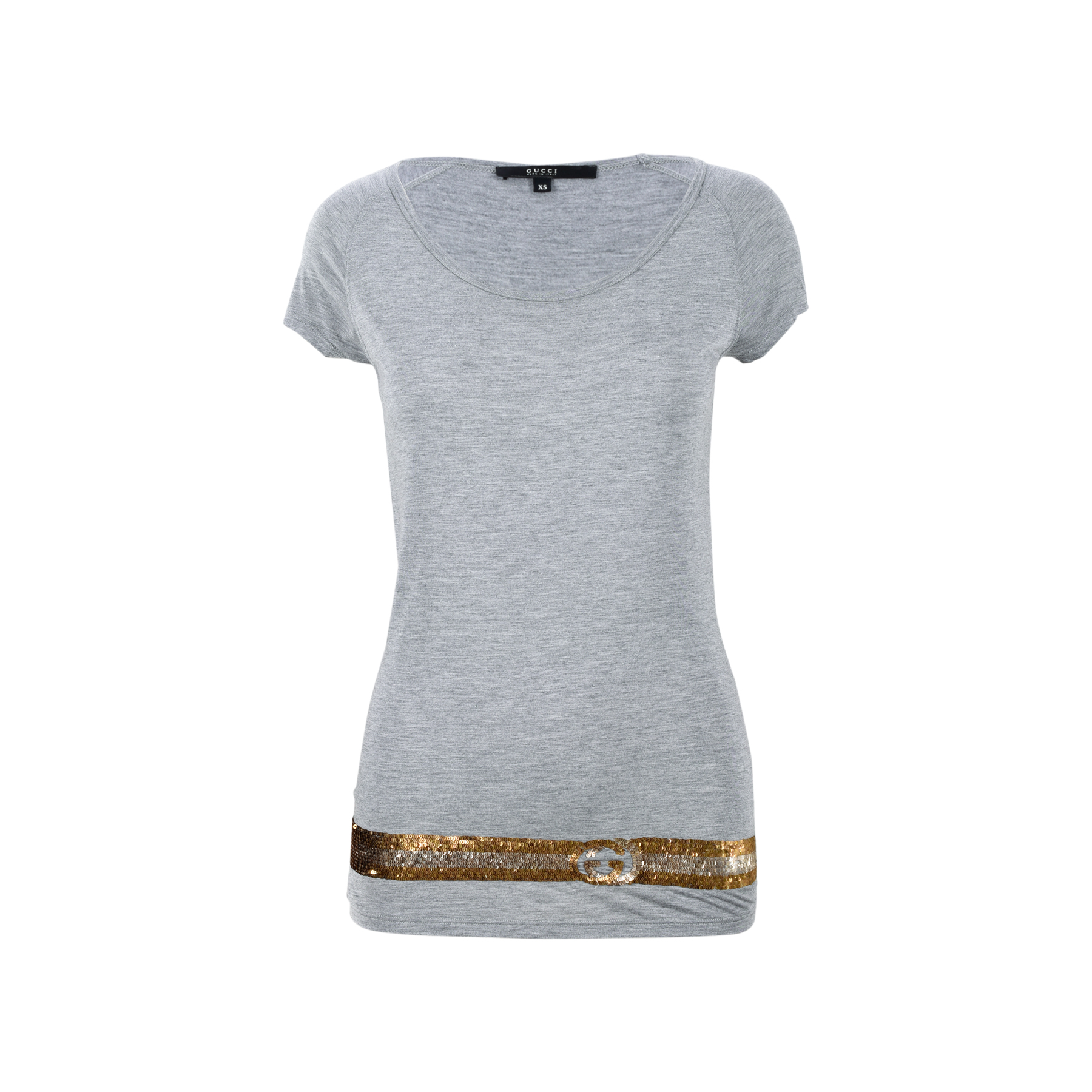0f4f26e4cb9d Authentic Second Hand Gucci Sequin Embellished T-shirt (PSS-200-01391)