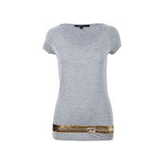 Sequin Embellished T-shirt
