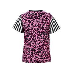 Marc jacobs leopard print stripe jersey t shirt 2?1526630277