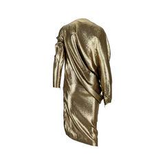 Lanvin lame draped dress 2?1526872283