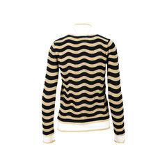 Fendi fur embellished wool blend sweater 2?1526872517