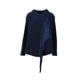 Authentic Second Hand Emporio Armani Fringed Tassel Knit Cardigan (PSS-200-01370) - Thumbnail 0