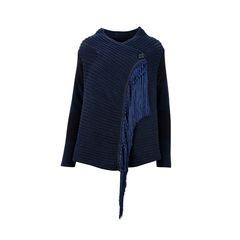 Fringed Tassel Knit Cardigan