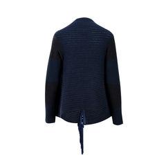 Emporio armani fringed tassel knit cardigan 2?1526872643