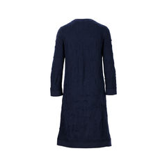 Chanel knit dress blue 2?1526884141