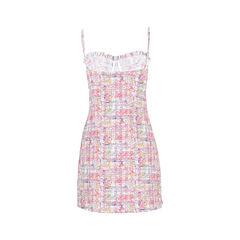 Chanel ruffle detailed spaghetti strap dress 2?1526963896