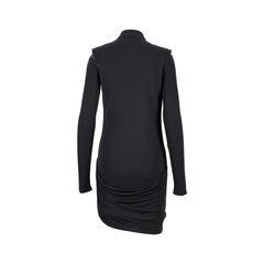 Gucci zipper details viscose dress 2?1526963992