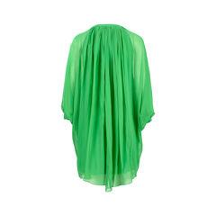 Diane von furstenberg green silk dress 2?1526964114