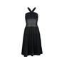 Authentic Second Hand Chanel Criss-Cross Woven Dress (PSS-200-00678) - Thumbnail 0