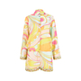 Authentic Second Hand Emilio Pucci Printed Silk Blend Romper (PSS-200-00719) - Thumbnail 0