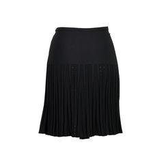 Chanel diamond knit and heat pleated skirt 2?1526964334