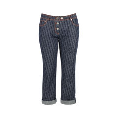 Monogram Denim Capris